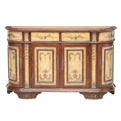 Venetian Style Paint-Decorated Buffet