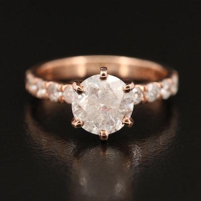 14K 2.02 CTW Diamond Ring
