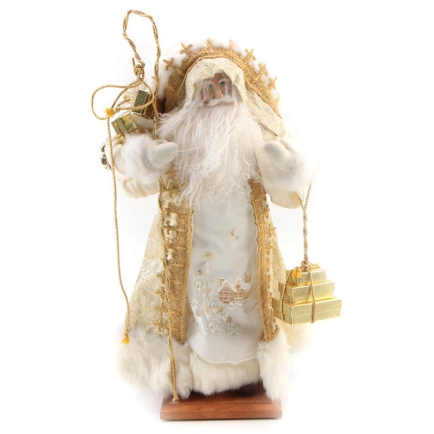 "Lynn Haney ""Santa of Peace"" Christmas Santa Figurine, 1994"
