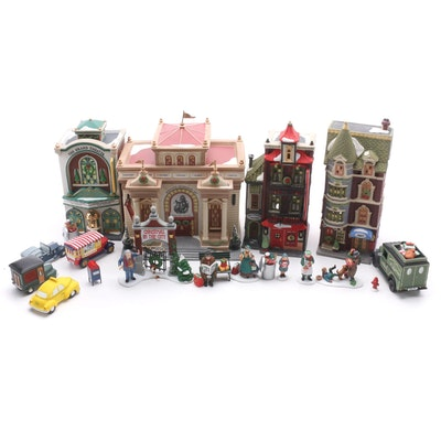 Department 56 Heritage Village Hand-Painted Porcelain Buildings and Figurines