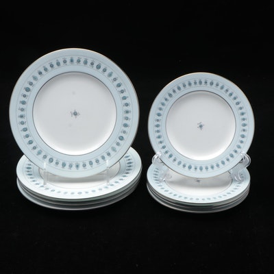 "Minton ""Ancient Lights"" Bone China Dinner and Salad Plates"