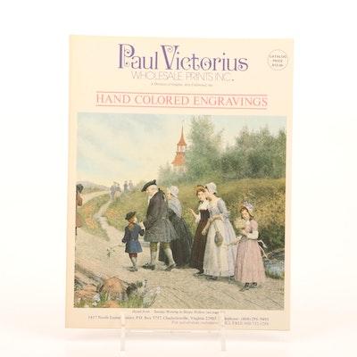Paul Victorius Hand Colored Engravings Catalog