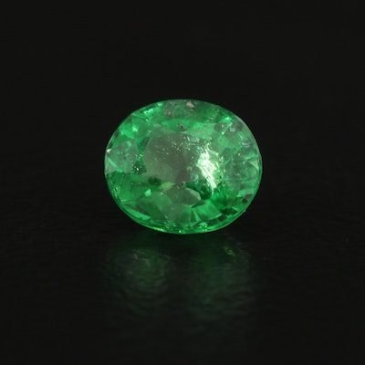 Loose 1.11 CT Mixed Cut Tsavorite with AGL Report