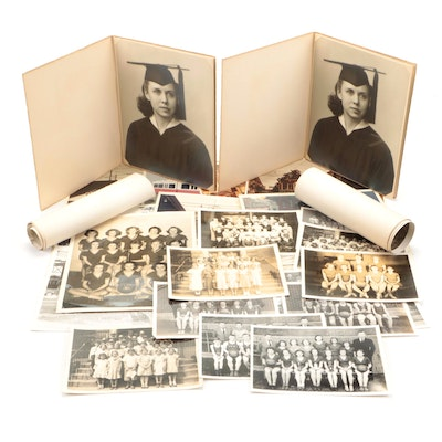 Portrait, Team, School, Family Photographs, Late 19th to Mid-20th Century