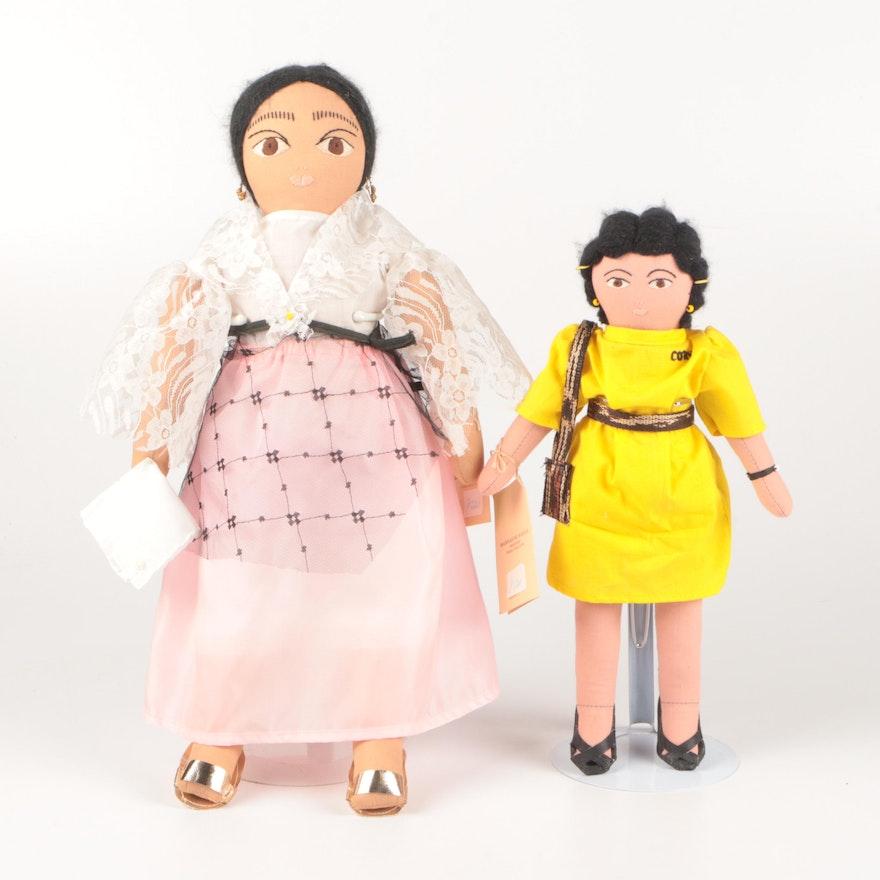 Manikas ng Manila Folk Art Cloth Dolls, Late 20th Century