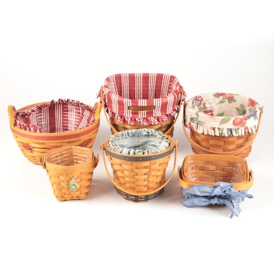 """Longaberger Baskets Including """"1998 Christmas Collection"""""""