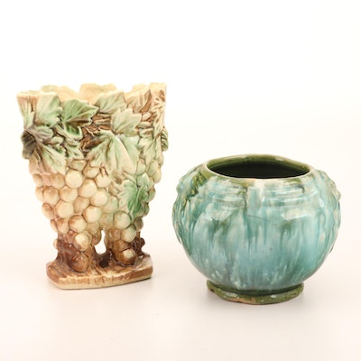 Ohio Art Pottery Planters, Early to Mid 20th Century