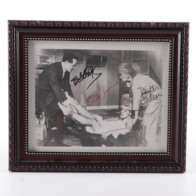 """Bob Hope Signed """"Boy, Did I Get a Wrong Number!"""" Movie Print"""