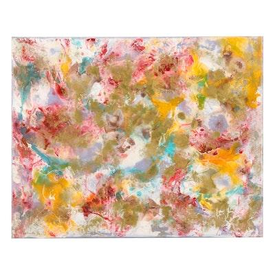 Farnoosh Lanjani Abstract Acrylic Painting, 2021