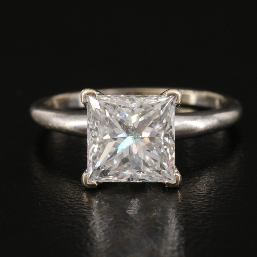 14K 1.75 CT Diamond Solitaire Ring