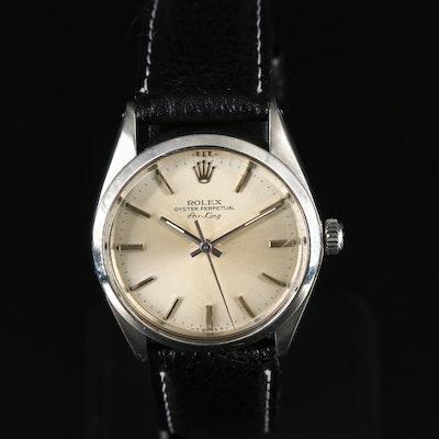 1979 Rolex Air-King Model 5500 Stainless Steel Wristwatch