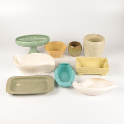 McCoy, Haeger, and Others Ceramic Planters