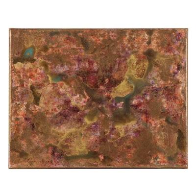 Farnoosh Lanjani Abstract Acrylic Painting, 2019