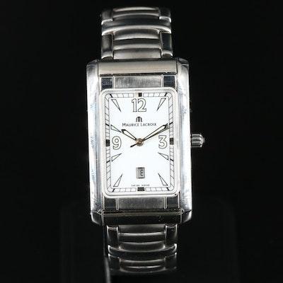 Maurice Lacroix Miros Stainelss Steel Quartz Wristwatch