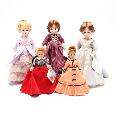 Madame Alexander Dolls Including First Lady Collection