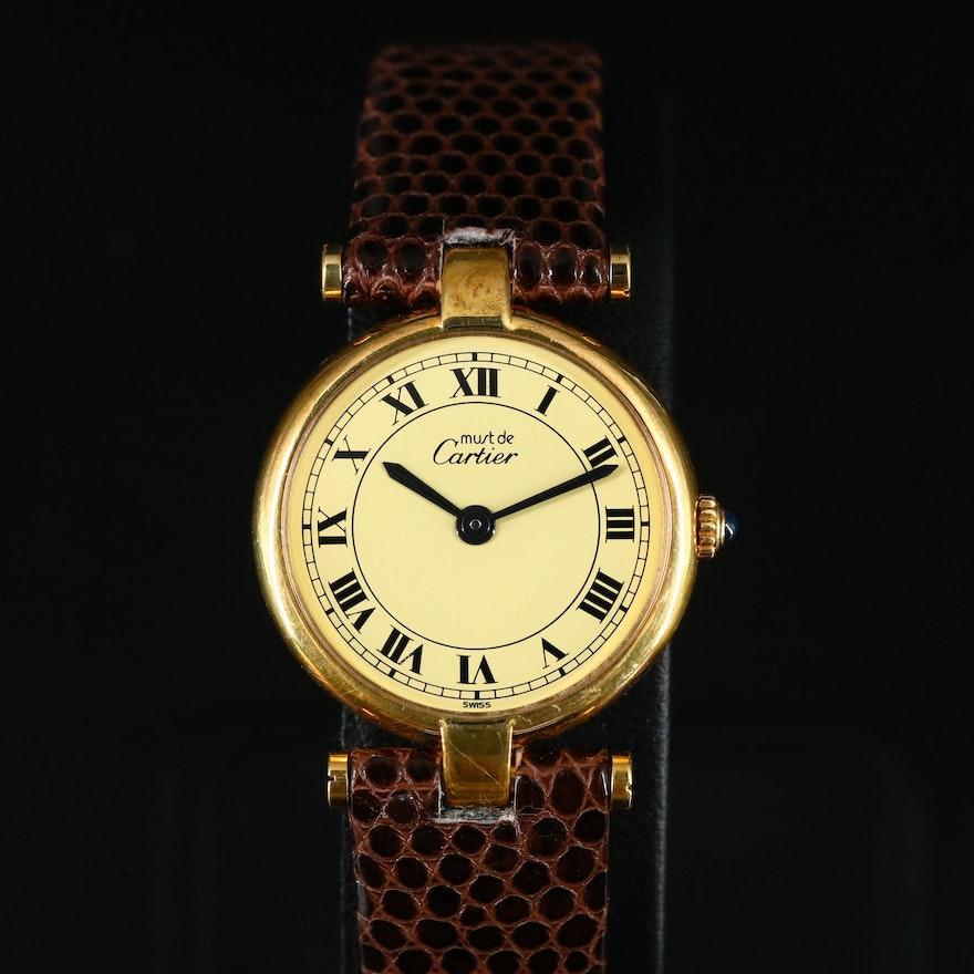 Cartier Must de Cartier Quartz Wristwatch
