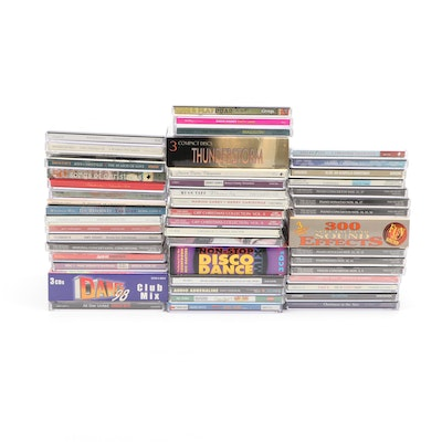 Christmas, Classical, Disney and Other CDs
