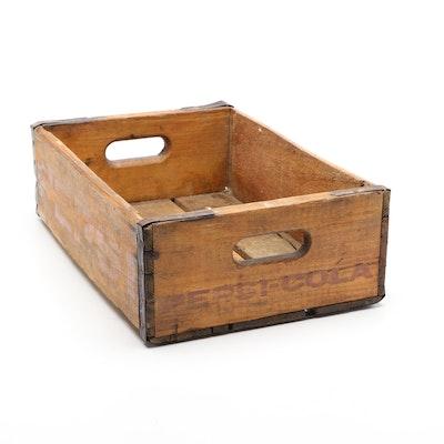 Pepsi-Cola Wood Crate, Mid-20th Century