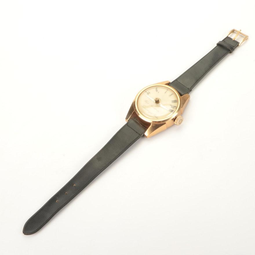 Oversized Wristwatch-Shaped Transistor Radio
