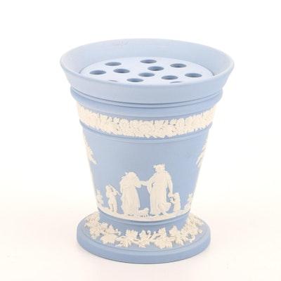 Wedgwood Jasperware Urn Bough Pot, Mid-20th Century