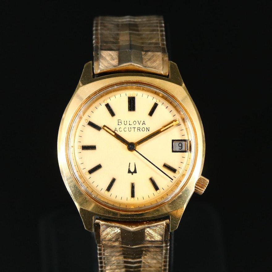 1976 Bulova Accutron with Date Wristwatch
