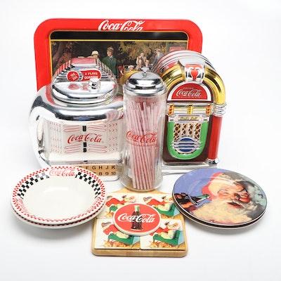 Coca-Cola Cookie Jars, Tableware, and Accessories