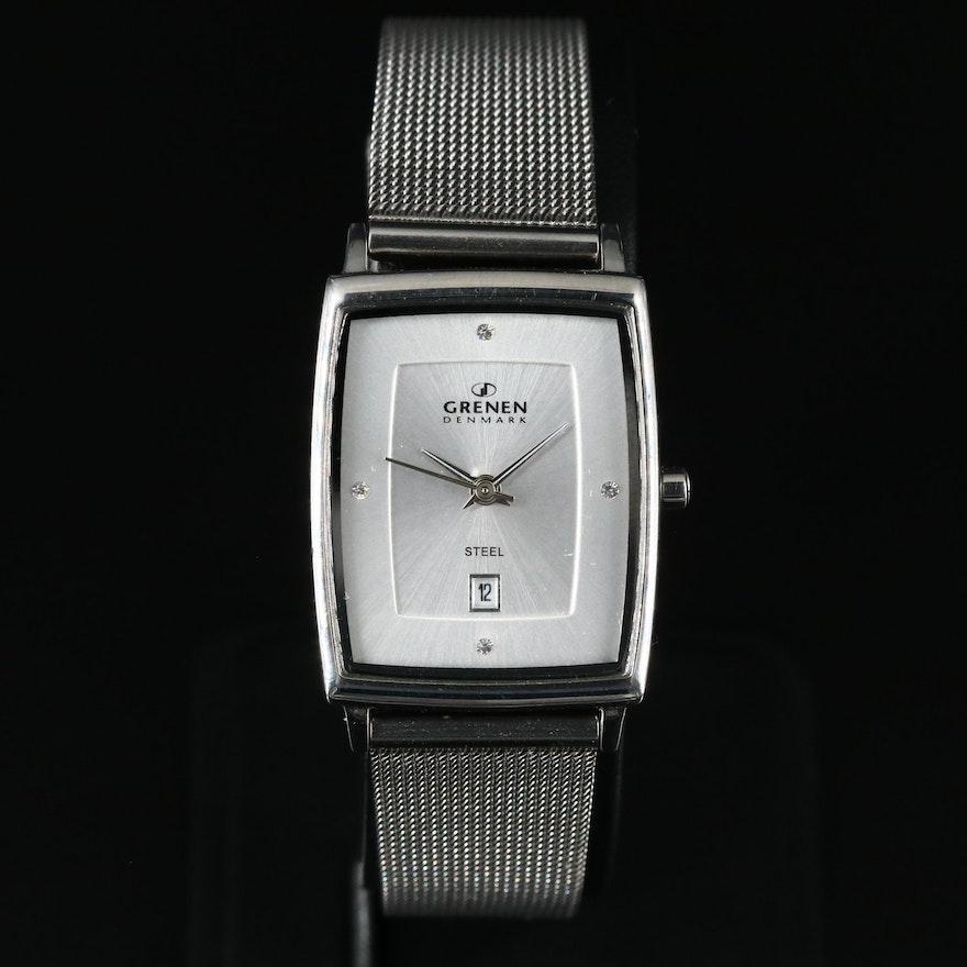 Grenen Denmark Steel Wristwatch