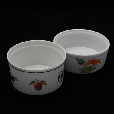 Royal Worcester and Seymour Mann Porcelain Baking Dishes