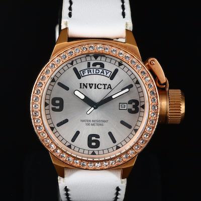 Invicta Corduba Rose Gold Tone Wristwatch
