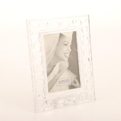 """Marquis by Waterford """"Arabesque"""" Crystal Picture Frame"""
