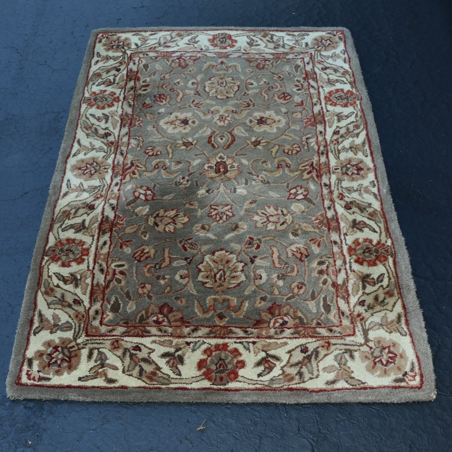 """3'8 x 5'8 Kenneth Mink Hand-Tufted Greenwich Collection """"Agra"""" Area Rug"""