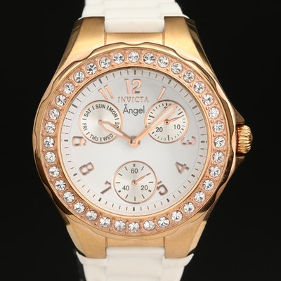 Invicta Angel Rose Gold Tone Wristwatch