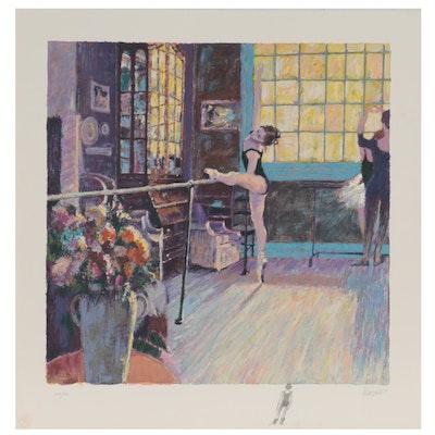 "Aldo Luongo Serigraph ""Ballerina,"" Late 20th Century"