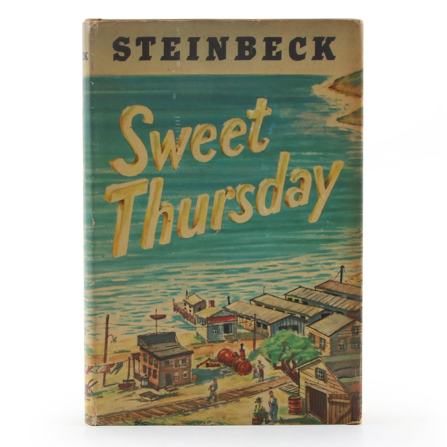 """First Edition """"Sweet Thursday"""" by John Steinbeck, 1954"""