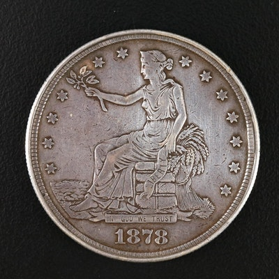 Hollowed-Out 1878-CC Trade Dollar