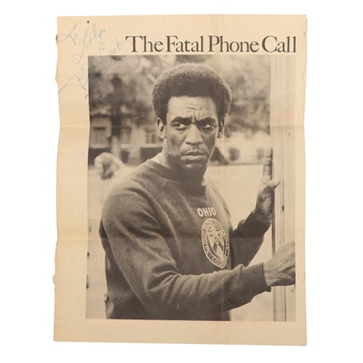 """Bill Cosby Signed """"The Fatal Phone Call"""" Script from """"The Cosby Show,"""" 1970"""