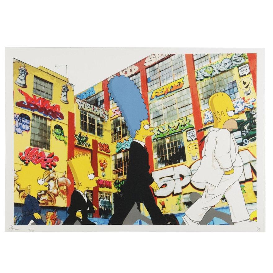 "Death NYC Pop Art Graphic Print ""Sim 5,"" 2020"