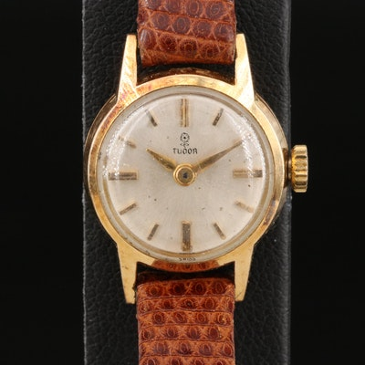 18K Tudor Rose Symbol Wristwatch