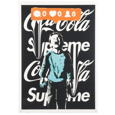 Death NYC Pop Art Graphic Print, 2020