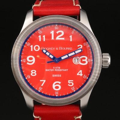 Dooney & Bourke Mariner Stainless Steel Quartz Wristwatch