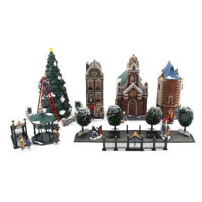 """Department 56 """"Christmas in the City"""" Figurines, Late 20th Century"""
