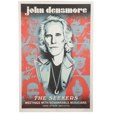 "Shepard Fairey Offset Print ""John Densmore: The Seekers,"" 2020"
