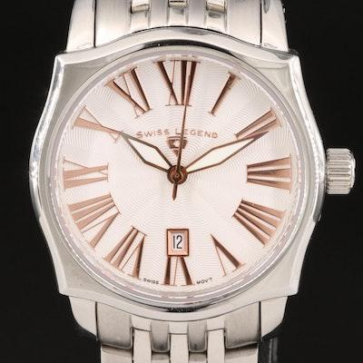 Swiss Legend Classic SL Stainless Steel Quartz Wristwatch