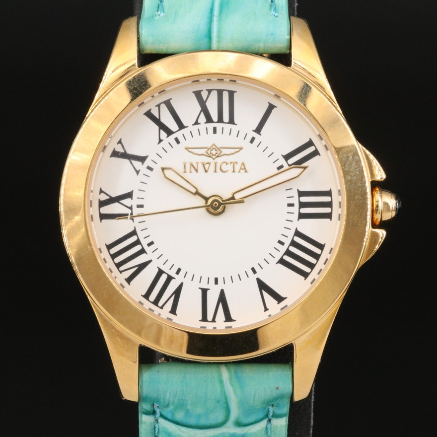 Invicta Angel Model No. 14989 with Four Interchangeable Leather Bands