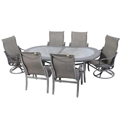 Contemporary Patio Dining Set