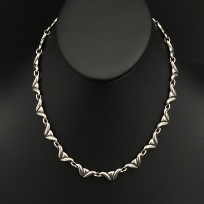 James Avery Sterling Silver Fancy Link Necklace