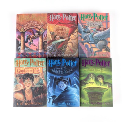 """First American Edition """"Harry Potter"""" Near Complete Series by J. K. Rowling"""