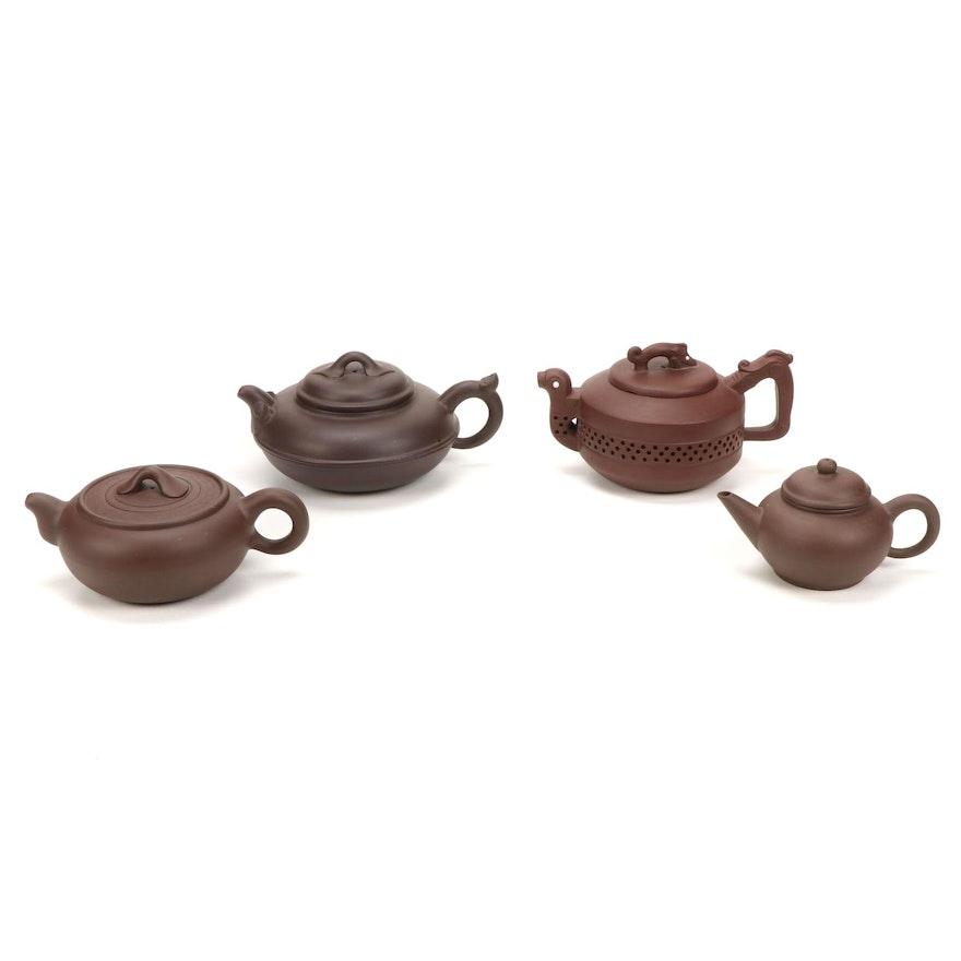Chinese Yixing Zisha Teapots