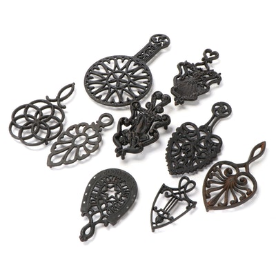 Wilton and Other Cast Iron Trivets