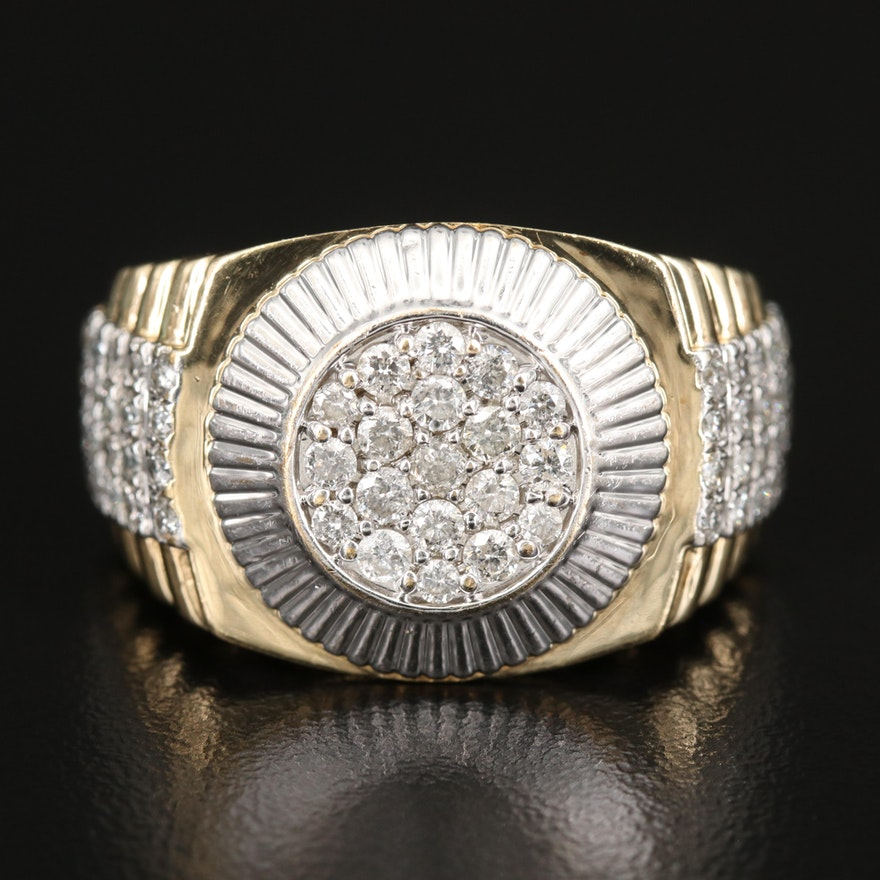 10K 1.26 CTW Diamond Ring